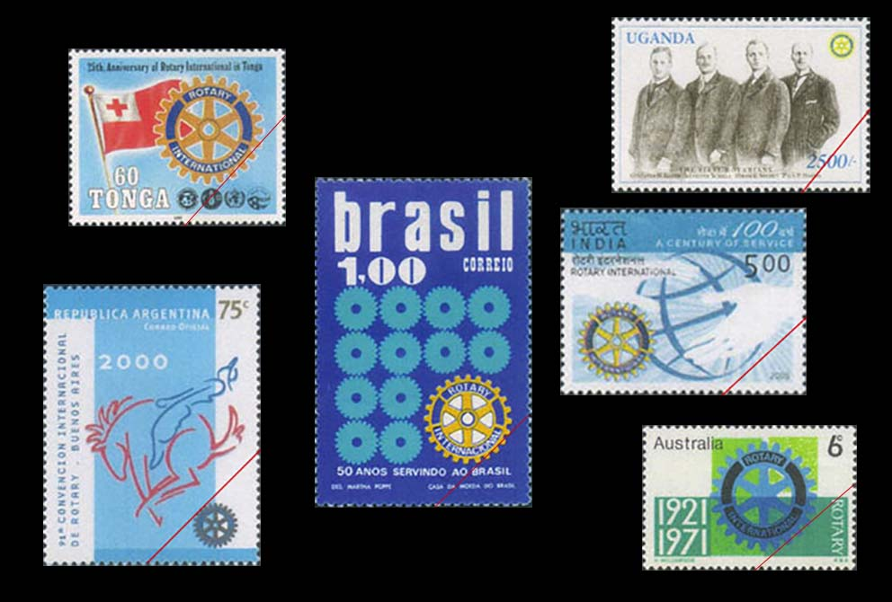 切手で見るロータリーの活動